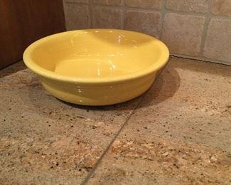 Fiesta yellow round bowl