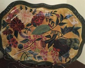 Raymond Waites Renaissance International platter