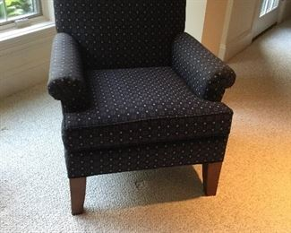 Ethan Allen blue arm chair   There are 2