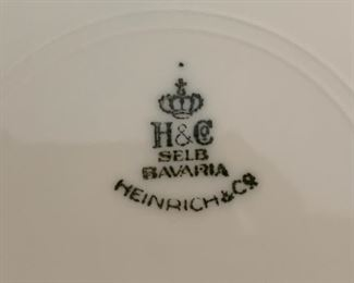 32. Heinrich & Co. Bavaria Plates