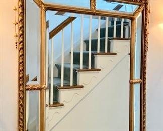 """35. Gilt Framed Beveled Mirror (34"""" x 54"""")"""