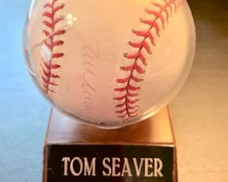 79. Tom Seaver Signed Baseball w/ Cert. of Authenticity