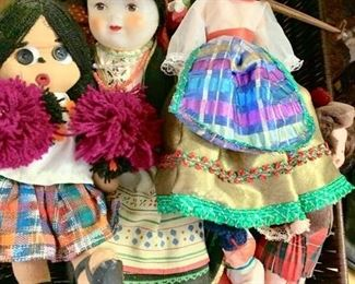 Collection of Dolls From Around The World 1960's