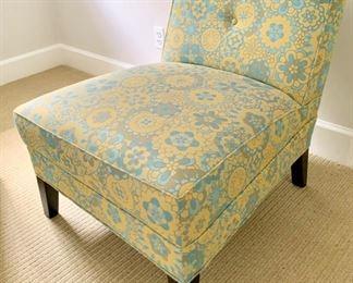 "84. Mitchell Gold and Bob Williams Slipper Chair (28"" x 32"" x 29"")"