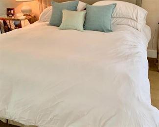 101. King Upholstered Bed
