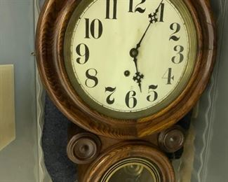 """139. Wall Clock (21"""" x 16"""")"""