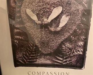 "176. Compassion Print (27"" x 34"")"