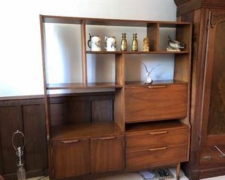 MCM bookcase /desk