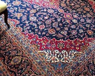 "Large area Rug 14'2"" by 10' 2"" in great condition"
