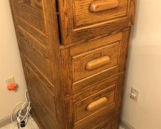 Free wood file cabinet