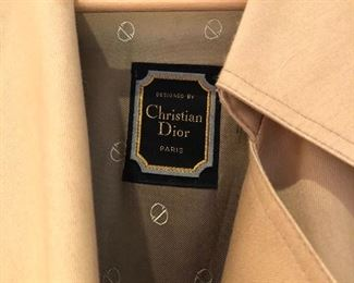 Christian Dior trench Coat 46R