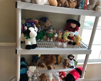 Stuffed animals/toys - the kids get to pick something off the shelf.