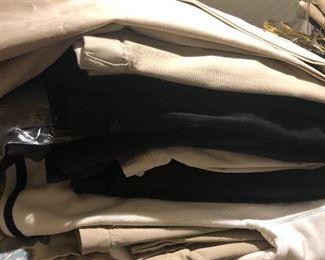 Huge lot of mens dress slacks, size 54