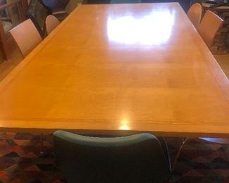 Jhane Barnes Inlaid Conference or Dining Table $1200 Original Cost $5000
