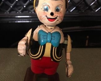 Vintage walking Pinocchio
