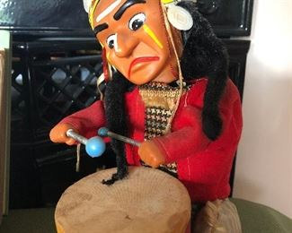 The Ignoble Indian wind up toy