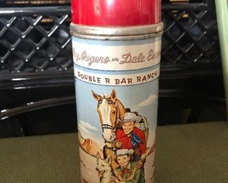 Almost mint Roy Rogers and Dale Evans thermos