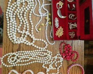 Misc. earings, and jewelry