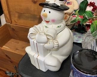 Nice, Lenox snowman.