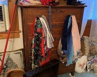 Spacious dresser.