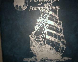 Voyager stamp album