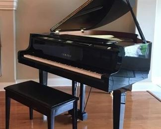 Yamaha GH 1 Baby Grand Piano 1994. Stately and Beautiful! Played regularly. Pristine condition.  $5,500 discounts will not apply. Bids will be accepted