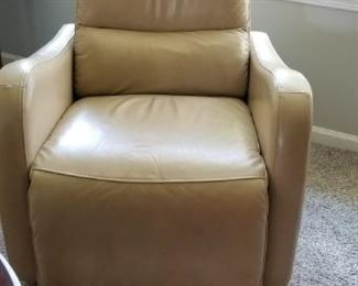 Dania leather recliner- purchase today for $200