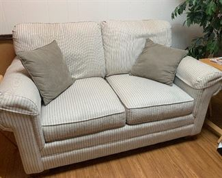 Beautiful loveseat only 6 months old