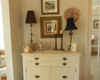 Lovely lamps and decor