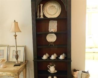 h One of the matching bookcases