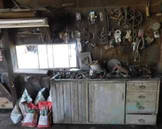 Tools, parts, and belts