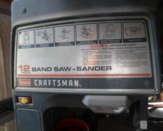 Craftsman Band Saw-Sander
