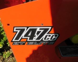 ZT Elite Bad Boy Mower 46.9 hours 747cc with 60 inch cut