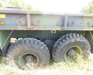 Military 5 ton non-running