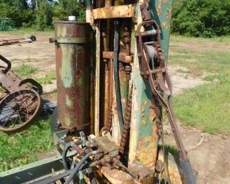 Fork truck attachment