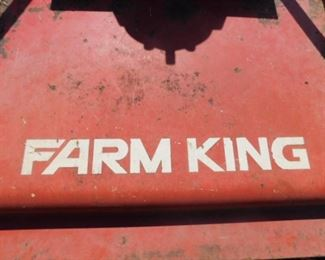 Farm King Finishing mower model Y750R