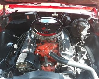 1968 Supersport big block Camaro Convertible, disc brakes, factory Supersport, non-original motor