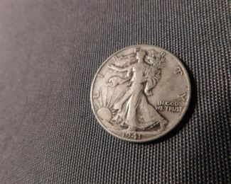 1941 Walking liberty