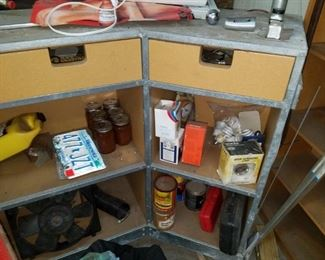 Storage cabinet on wheels. HUGE piece