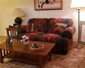 Western Style Sofa Set and Decor