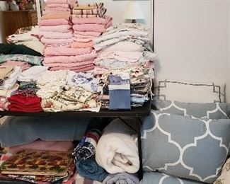Linens, Towels and Comforters