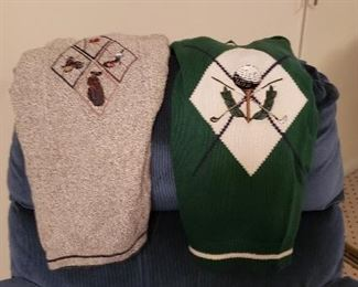 Golfing Sweaters Excellent Shape