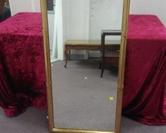 Gold Framed Floor Length Mirror