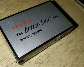 Quincy, IL product - Brower