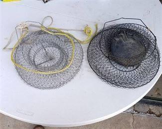 2 Fish Baskets and Stringer