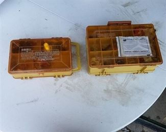 2 Tackle Boxes