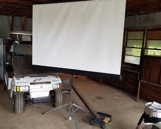 Projector Screen 69 inches wide