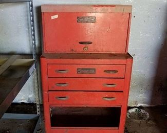 Snap-on tool box and contents