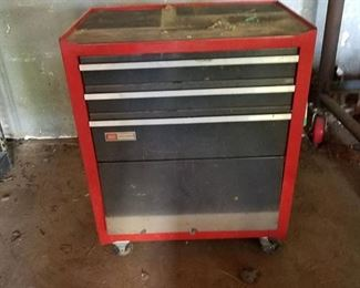Craftsman rolling tool cabinet contents included