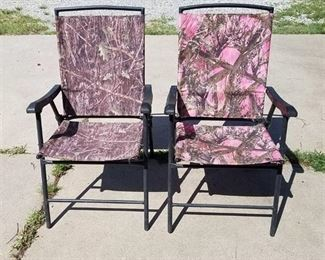 camouflage folding chairs